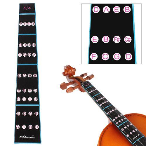 4/4 Violin Fingerboard Sticker Fretboard Note Label Beginner Violin Parts Accessories