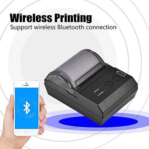 Mini USB Wireless Bluetooth Thermal Receipt Printer POS Prin