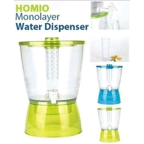 Monolayer Water Dispenser For (Water, Tea, Juice, Ice