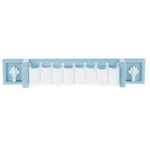Wall-mounted Storage Rack Kitchen Spoon Knife Organizer Shelf Bathroom Toothbrush Holders Girls Cosmetic Makeup Clip Hanger