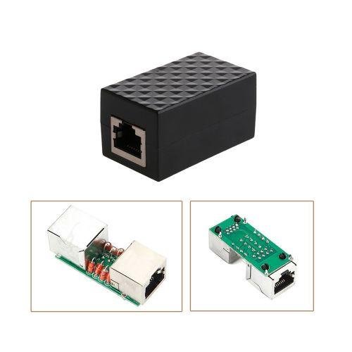 RJ45 LAN Adapter Ethernet Network Protect Device Arrester Surge Protector