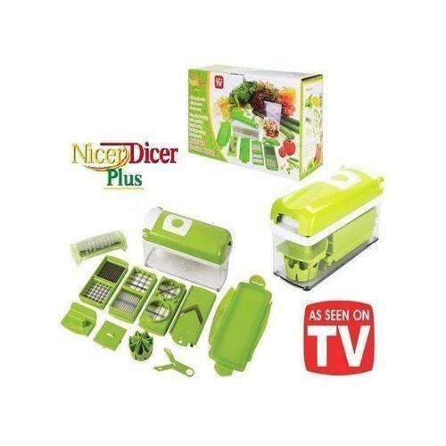 Nicer Dicer Plus 6 In 1 Fruits Vegetable Chopper Slicer Cutter Grater