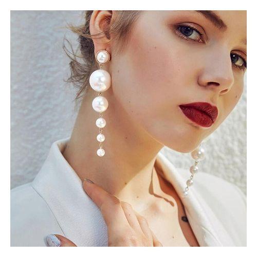 Pearl Drop Earrings.