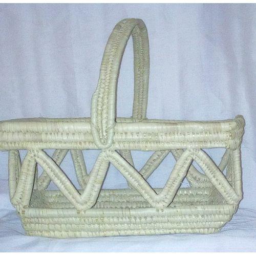 Natural Hand Woven Raffia Basket/ Raffia Shopping Bagket/sBeach Basket/ Picnic Baskets Hamper Basket/Baskets - Honey Brown