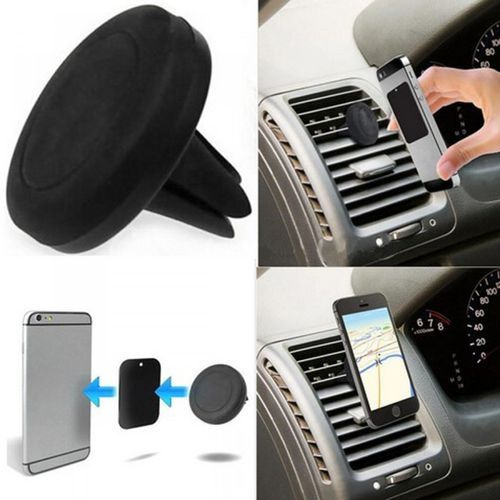 Magnetic Car Mobile Phone Holder Air Vent Mount Stand Kit