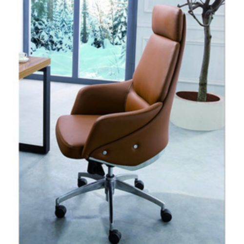 Executive CEO Office Chair With Genuine PU Leather
