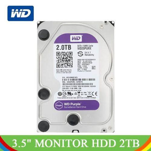 2TB WD Surveillance Harddrive