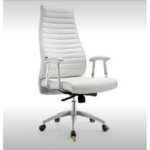Executive Swivel High Back - White