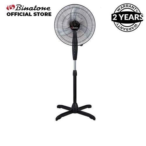 16-Inch Standing Fan A-1691 - Black.