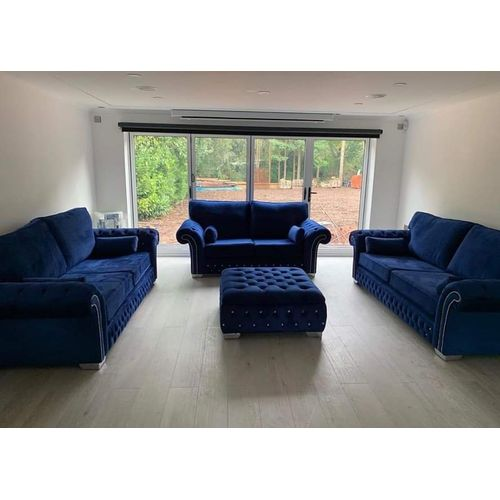 THE ROYAL'S BLUE 3+3+2 ( FREE DELIVERY WITHIN LAGOS ONLY)