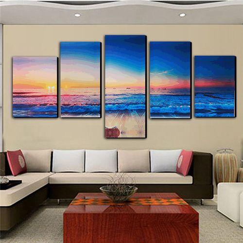 Modern Art Oil Canvas Print Wall Art Picture Home Decor