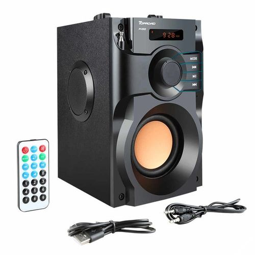 Portable Outdoor/Indoors A11 Bluetooth FM Radio Speaker.