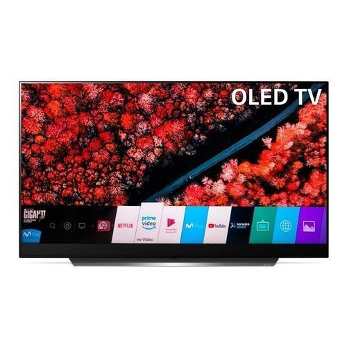 LG 55'' OLED 4K UHD Smart Satellite AI TV + Magic Remote - 55C8