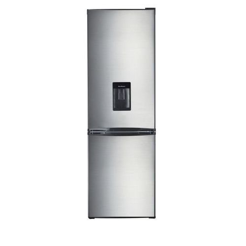 TOP MOUNT FRIDGE WHITH WATER DISPENSER HD390(D) Stainless