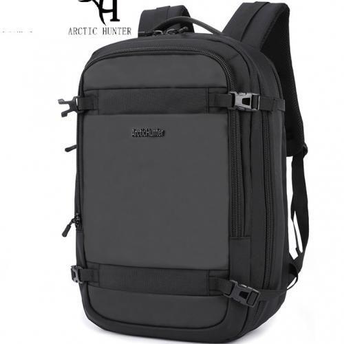 2019 ARCTIC HUNTER 4 Way Laptop Backpack,Anti Theft Bag With USB Charging Port -Large Capacity- B34 - Black
