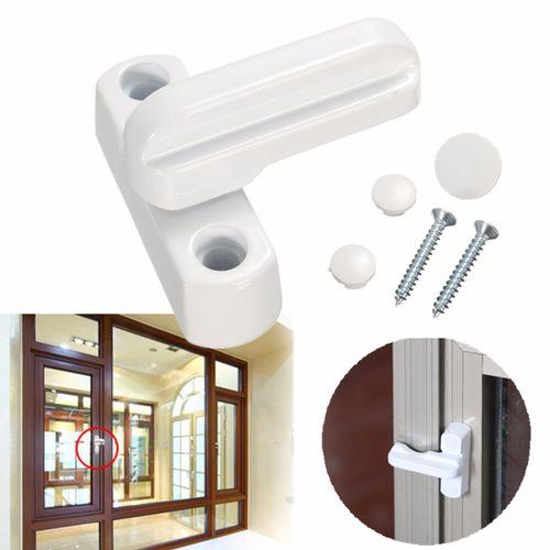 Windows Door Sash Jammer Extra Security Swing Lock Latch