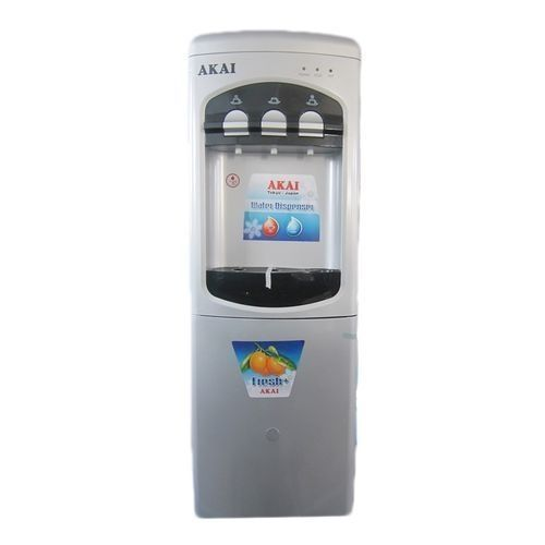 3 Taps Water Dispenser With Fridge -63D