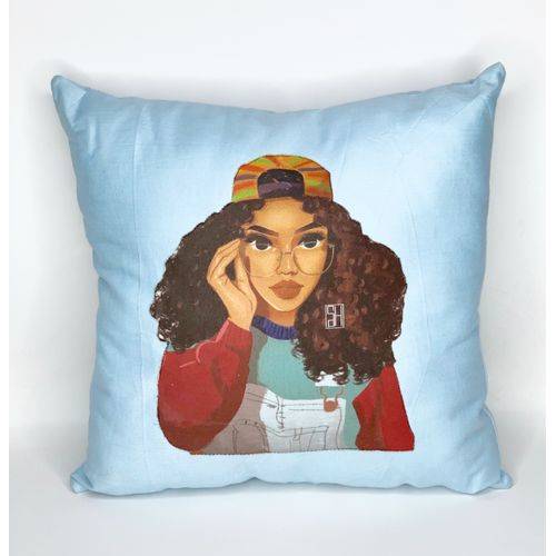 Geeky Chic Throw Pillow