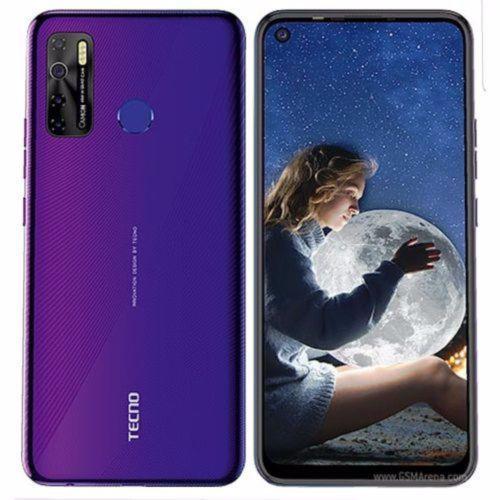 "Camon 15 (CD7) 6.6"" HD+ 4GB RAM+64GB ROM, Android Q(10), 48MP Quad Rear Camera, 5000mAh - Fascinating Purple"