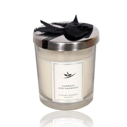 Currant & Oakwood Scented Luxury Candle