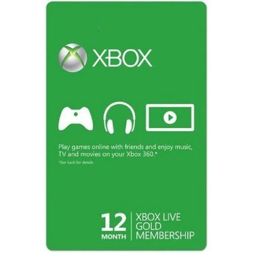 Microsoft Xbox LIVE 12 Month Gold Membership