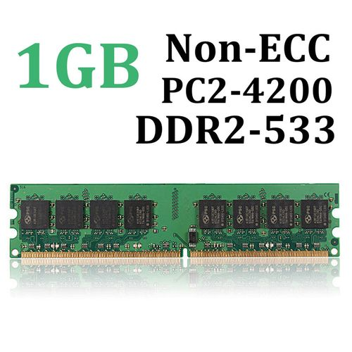1G 1GB DDR2-533 PC2-4200 Non-ECC Computer Desktop PC DIMM Memory RAM 240 Pins !