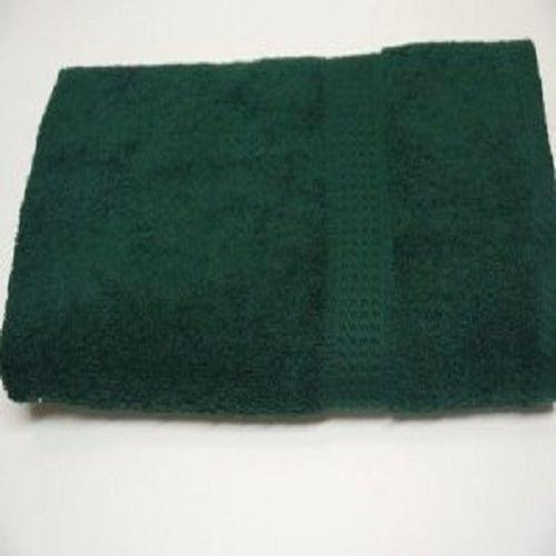 Green - Medium Cotton - Bath Towel