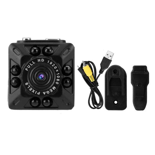 1080P 8 IR LED Pocket Camera Mini Video Audio Recorder USB Home Car Security DVR
