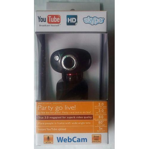PC CAMERA BC&IT (HD WEBCAM) 3.0 MEGAPIXEL COMPATIBLE, ICQ,SKYPE, WINGOWS LIVE MESSENGER, MAC 0S, YAHOO, WINDOWS