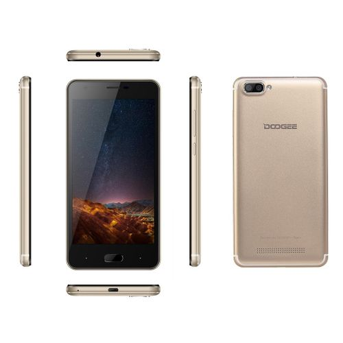 EY DOOGEE X20 5.0 Inch HD 2GB RAM 16GB ROM 3G Quad Core Phone For Android-gold