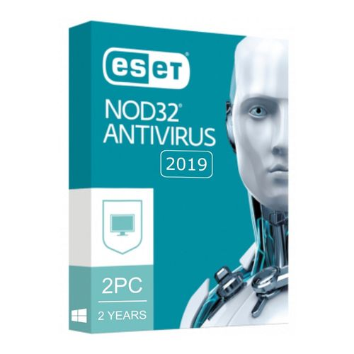 Eset NOD32 Antivirus 2019 V12 / 2 PC 2 YEARS / EMAIL DELIVERY