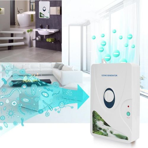 110V 12W 600mg/h Air Purifier Vegetable Fruit Ozone Generator Ozonator Sterilizer Home Appliances Meat Fresh Purify Air Water
