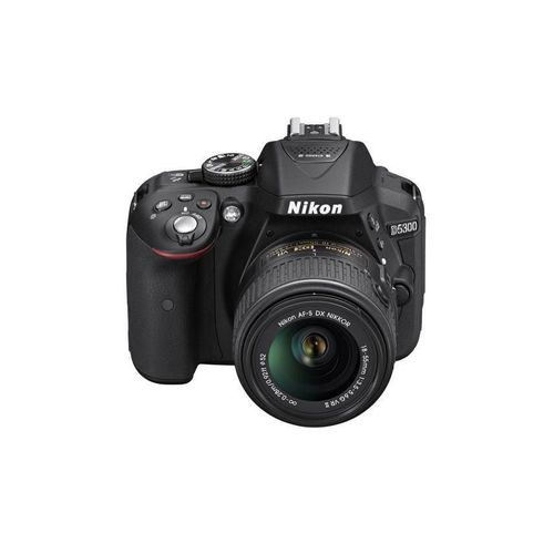 D5300 DSLR Camera With 18-55mm Lens (Black)