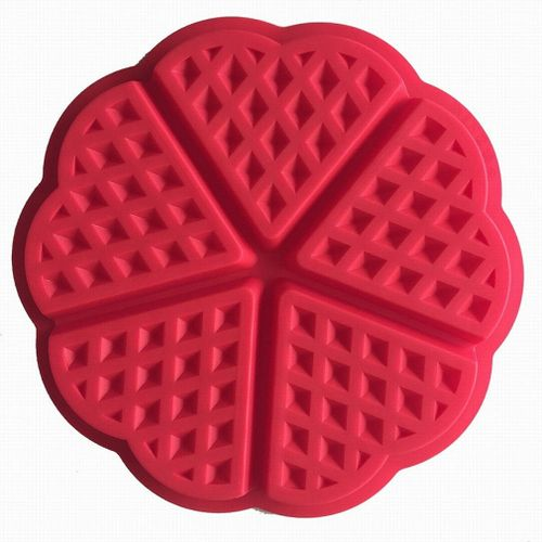 Silicone Waffle Mold Muffins Baking Cookie Cake Bakeware