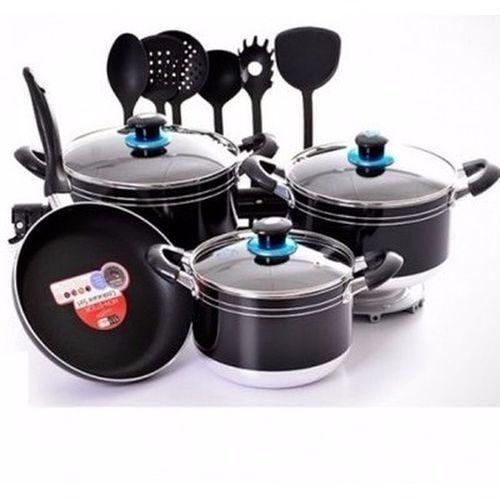 Non-stick Cookware Set - 15 Pieces