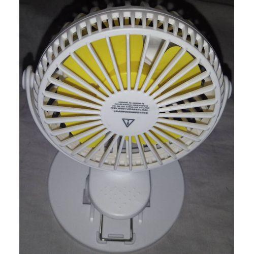360 Mini Rechargeable Rotatable Fan -