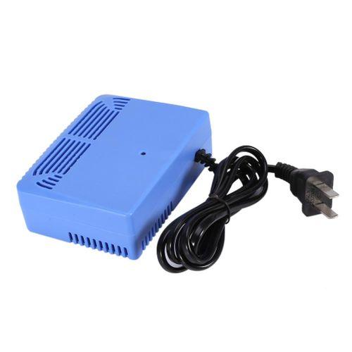 AC220-240V Intelligent Air Purifiers Ionizer Airborne Negative Ion Anion Generator Blue