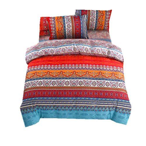 Microfiber Double Duvet Cover Bedding Set With Pillow Case
