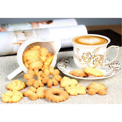 23Pcs/Set Cookies Decorating Machine DIY Icing Nozzles Flower Cookies