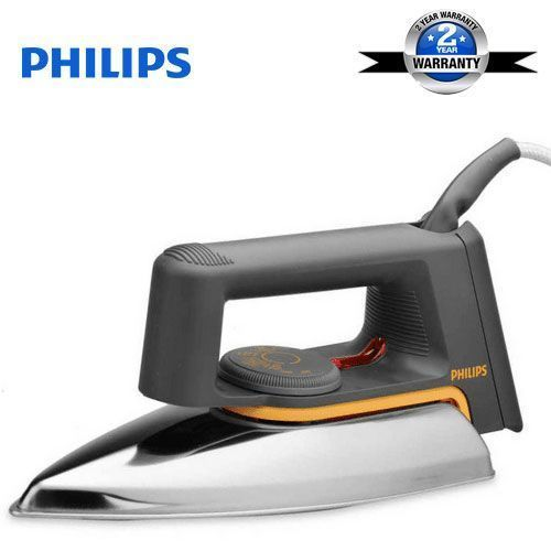 Philips Automatic Electric Dry Iron - 1000W- Grey