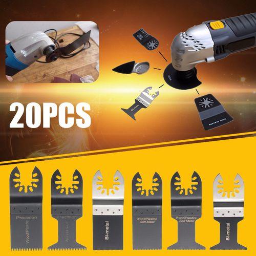 20X 34-45MM Oscillating Multi Tool Saw Blades Set For Fein Bosh Multimaster US