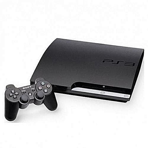 Play Station 3 Slim (320GB) Console With (20 Games) With Extra Pad Controller