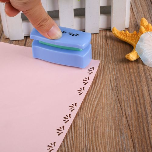 DIY Paper Card Punch Cutter Scrapbook Shaper Embossing Device Hole Craft