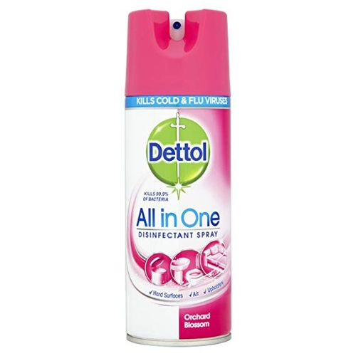 All-in-one Disinfectant Spray- Orchard Blossom 400ml X 6