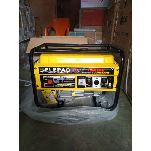 USA Standard 100% Full Cooper Constant Elepaq Generator 3.5kva Manual Type