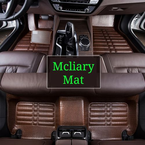 Car Foot Mat/Customize Car Leather Carpet/Car Auto Floor Mat