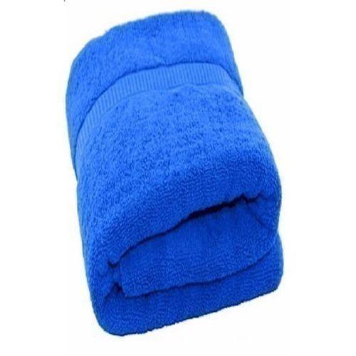 Large Succulent Bathing Towel- Blue