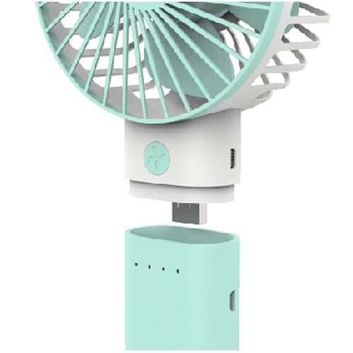 Rechargeable Handheld Fan With Detachable Power Bank