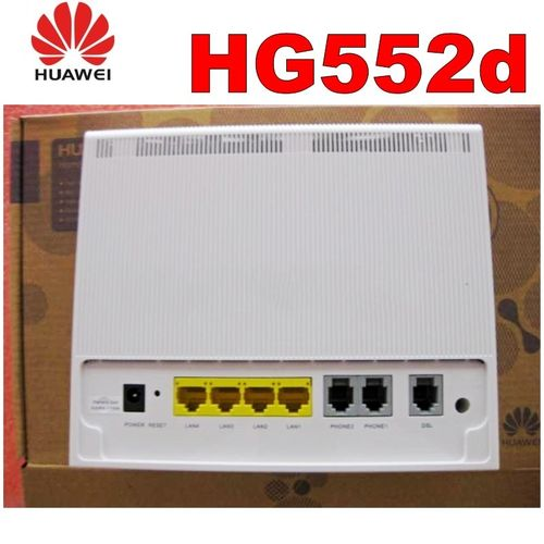 New In Box Huawei HG552d ADSL2 Moden/router