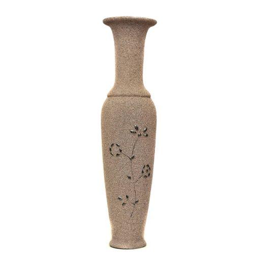 Wood Flower Vase Decor
